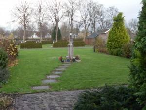 Strooiveld op de Algemene Begraafplaats te Franeker.