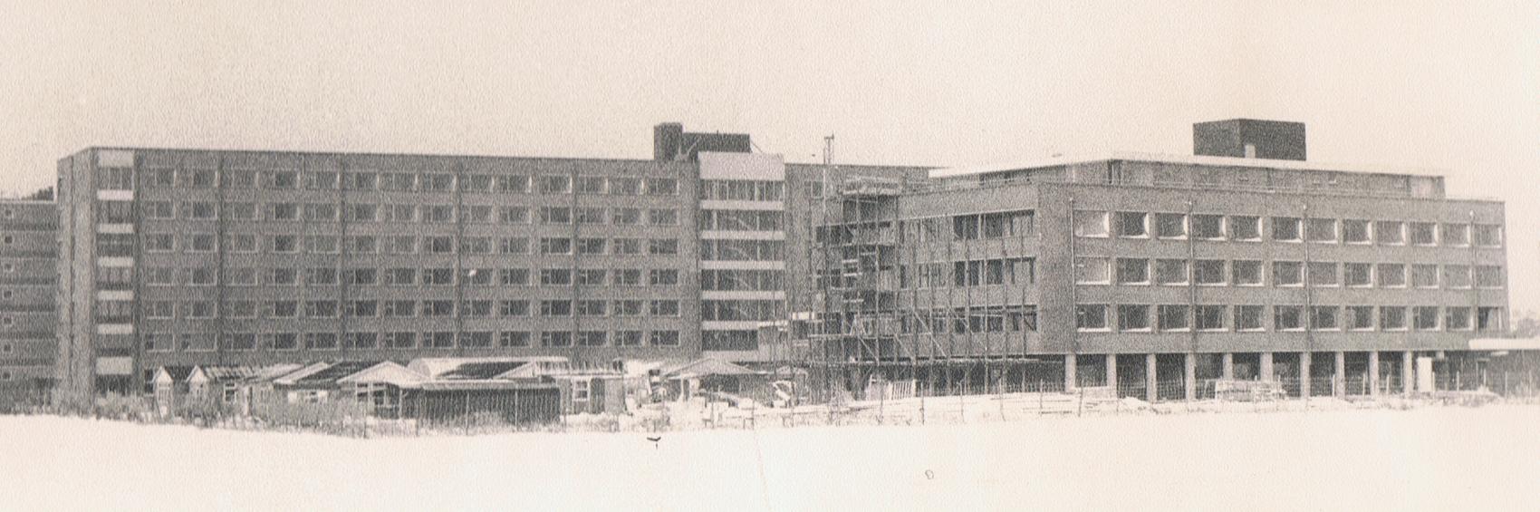 1970.09 - Heymanscentrum - Bouw