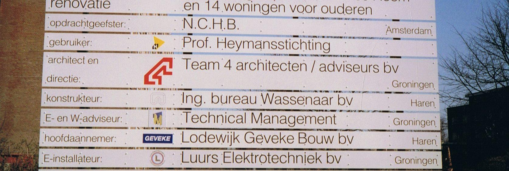 1994.19 - Heymanscentrum - Hoornseheem - renovatie -1994