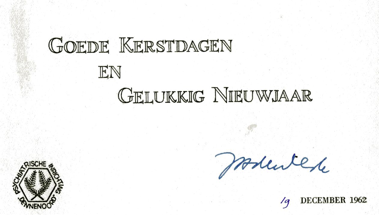 1962 12 19 Kerstwensen Lentis Erfgoed